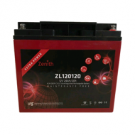 Zenith AGM Deep cycle accu 24 ampere 12 volt