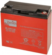 Zenith AGM Deep cycle accu 18 ampere 12 volt